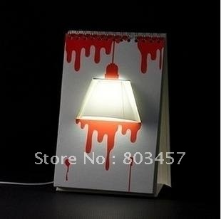 Amazing!!! New arrival DIY USB Creative Page by Page modern LED desk Table Lamp