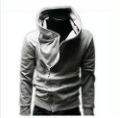 New men 2012 hoodies!The men hoodies and women all can wear/coat jackets/inclined zipper hoodies/4colors/Free shipping