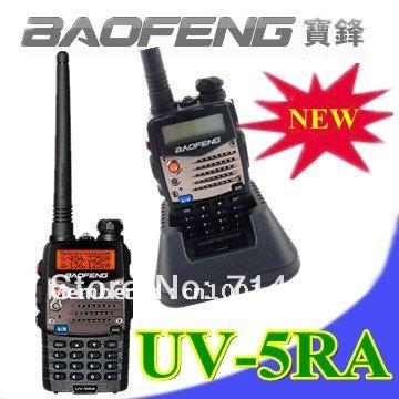 Baofeng New UV 5RA Ham Two Way Radio 136-174/400-480 MHz Dual-Band DTMF CTCSS DCS FM 5W Amateur Radio Transceiver(China (Mainland))