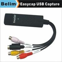 Free Shipping 10pcs/lot Easycap DVR Card USB 2.0 Video Capture Adapter 4 Channels Audio Capture Card Easycap 518