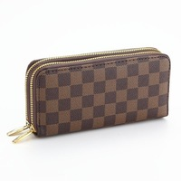 fashon Women Wallet long style single zipper brand purses pu leather lady wallet drop shipping WZ01