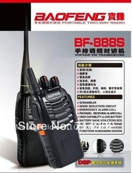 UHF400-470MHZ Baofeng Handheld Two way Radio 888S walkie talkie Free shipping(China (Mainland))