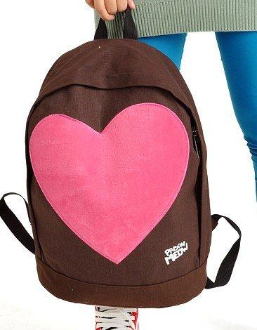 Рюкзак LOVE heart backpack fashion schoolbag Cute travelling bag
