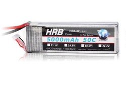 New 22.2V 5000mAh 50C Max 55C 6SCells Volt RC LiPo Li-Poly Battery Free Shipping(China (Mainland))
