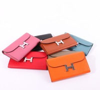 2012 newest fashion women genuine leather purse, wallet, hot seller, card holder,money clips,