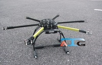 ATG 800mm 4/6-Y4 15mm Arm FPV Hex/Quad Copter Folding Frame Multi-copter  freeshipping