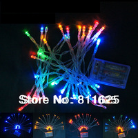 Multicolor 4m 40 LED  Battery Power Operated  Holiday LED Battery String Lights,X'mas Decoration Fairy Light