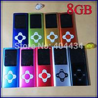 30pcs/lot 4th cross flower button 1.8'' mp4 player 16gb internal memory FM radio/e-book function slim mp4 music player