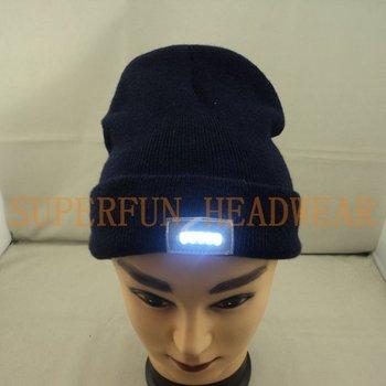 2012 fashionable keeping warm LED light beanies,LED knit hats
