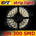 5m/Lot 300 LED 3528 SMD Strip Light White IP33 Flexible Hot Sale For Decoration