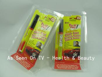 Free shipping 200pcs/lots Fix It Pro,Clear Car Scratch Repair Pen for Simoniz,clear coat car scratch repair pen