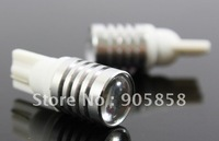Wholesale - 2012 New Style Hot Seller 50 pcs/Lot of Auto LED Light T10(194)-1x3W High Power 9-30V Canbus LED Light