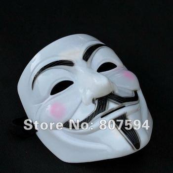 Free shipping! (12 pcs /lot ) V Mask Vendetta party mask Halloween Mask