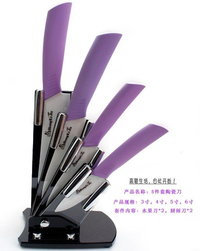 skj brand fashion colorful 3inch 4inch 5inch 6inch knife