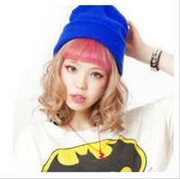 men & women  GD glimmering knitted hat colorful BBOY hiphop hats#8045