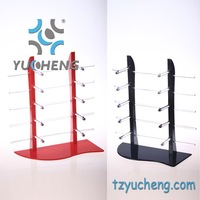 [YUCHENG] Spectacle Eyewear displays stand sunglasses display stand holder rack many colors for choice 6pcs/lot Y072
