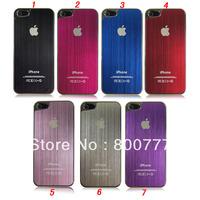 Raw Aluminum Metal Case for iPhone 5 5S