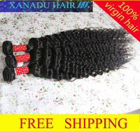 "Hair Extensions 26""+28""+30"" 3pcs/lot brazilian hair,human virgin hair,hair extension,Deep curly, 100G/piece"