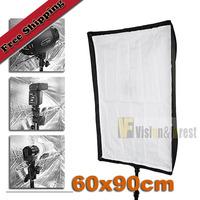 "60x90cm / 24""x36"" Umbrella Softbox Reflector  Square Soft Box For Speedlite  Studio Flash"