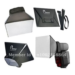 Pixco Flash Diffuser Softbox Diffuser light For Canon Nikon Pentax Olympus Sony(China (Mainland))