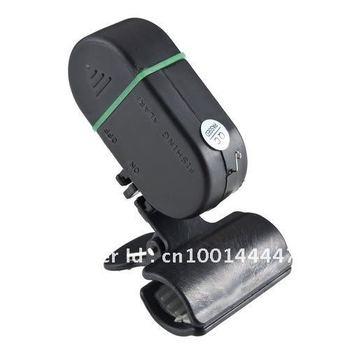 LED Light Electronic Fish Bite Strike Alarm Bell Alert Clip-On Fishing Rod Pole