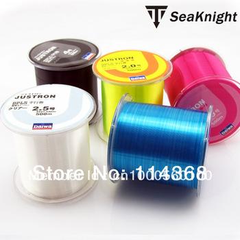 Free Shipping 500m Monofilament Strong Quality Color Nylon Fishing Line 8LB 10LB 12LB 16LB 20LB 25LB