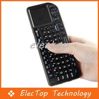 Free shipping Mini Wireless Bluetooth Keyboard Mouse Touchpad Presenter 50pcs/lot Wholesale