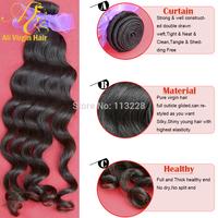 Queen hair products Malaysian virgin hair extension natural wave 100% virgin human hair remy hair weave 10-30 inches 3.5oz/pc