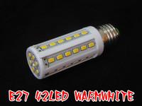NEW E27 10W 5630 42 LED  Warm Cool White led Bulb Lamp 220V