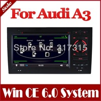 Auto Multimedia Car DVD Player for Audi A3 S3 with GPS Navigation Radio Bluetooth TV SWC AUX Map Stereo Audio Video Navigator