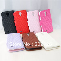 Diamond Quilted Leather Case For Samsung Galaxy SIIII S4 i9500
