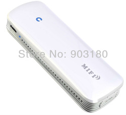 Mini portable pocket 3G Wireless and RJ45 Wired ADSL + 1800 mAh Mobile Power Supply, WiFi 150Mbps Mobile Network Mifi modem(China (Mainland))