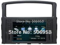 car dvd gps for Mitsubishi Pajero V93 V97 2007--2011  (3g optional) + canbus+ ipod+ free map+ virtual disk+ phonebook+