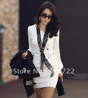 Korean fall and winter fashion new ladies OL round neck long-sleeved dress sexy skirts Primer shirt  A-005