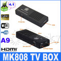 Tronsmart MK808 Google TV-BOX Mini PC Android 4.1.1 Rockchip RK3066 Dual Core Cortex A9 1G/8G Black