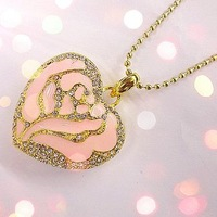 Fashional jewelry style Heart Shape USB Flash Drive 1GB 2GB 4GB 8GB 16GB 32GB 64GB Free Shipping