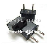 100pcs/lot New Design US/AU To EU AC Power Plug Adapter Travel Converter High quality EU Plug,Universal US to EU AC Power Plug