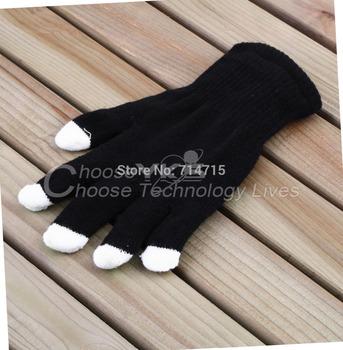 10Pairs Black LED 7 Mode Nylon LED Light Finger Flashing Glow Mittens Gloves