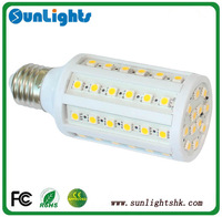 E27 E14 B22  86/60/44/36 LED 5050 SMD 15w 12W 8W 6W Cold/warm White powerful Corn Light Bulb 1200LM 230V 220V/110V lamp