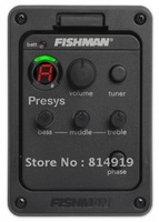 Fishman presys 101 pickup tuner  Preamp EQ Pickups Classic Acoustic Guitar pickup