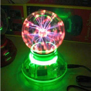 "3"" Novelty Lighting with sound control magic light lamp plasma static magic induction ball Touch lightning Best Gift for Kids"