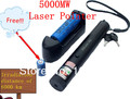 5000mw Laser Pointer Pen For 5000 with Charger with Battery ,Purple Laser Pointer +Retail Gift Box+ Battery+Charger,Dropshipping