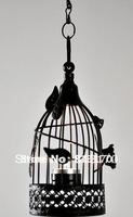Free shipping high class Chinese style delicate decorative bird cage metal lantern candleholder for home decoration