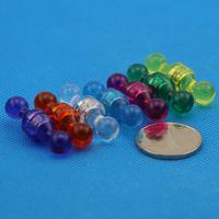 Free Shipping! 140pcs/lot  Brand New! Small Magnetic Thumbtacks  Push Pins   Seven  Color Memo holders