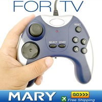 Hot selling TV game controller consoles AV jack joystick buit in 76 games in one,freeshipping
