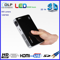 Coolux X3 DLP-link Mini Led 3D Projector with 2D to 3D HDMI VGA 1080P for Home Theater by DHL/EMS Free Shipping