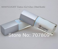 Free shipping 1pc white color Glitter Tattoo glue Gel  10ml/bottle  for Temporary tattoo