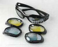 Outdoor mountain Sport Sunglasses Interchangeable Lens UV Protection Sun glasses military tactical oculos Gafas de sol deportes