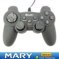 Hot selling shock USB GamePad PC joystick 1PCS,freeshipping