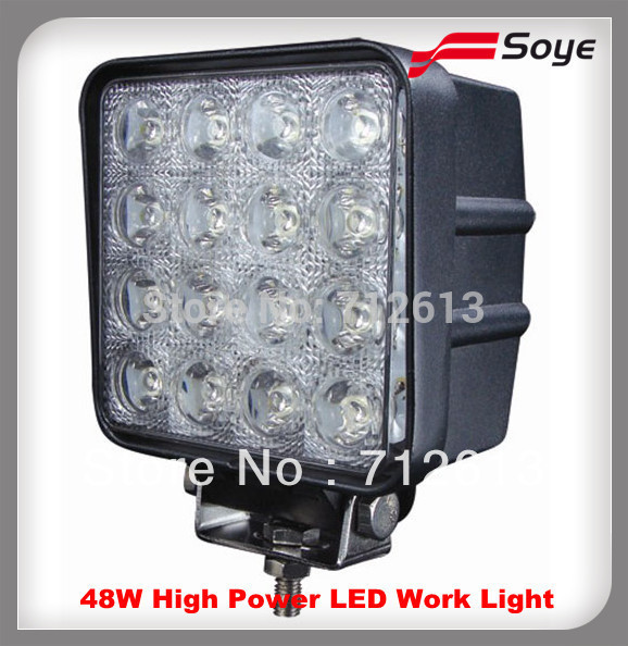 48w off road led work light for marine jeep 2500 4x4 4wd car accessories(China (Mainland))